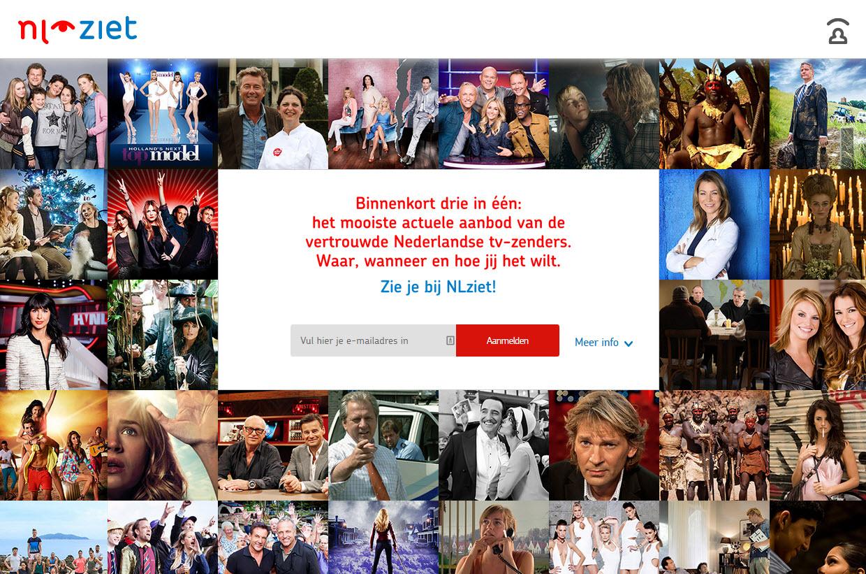 Nieuwe Uitzending Gemist portalsite NL Ziet