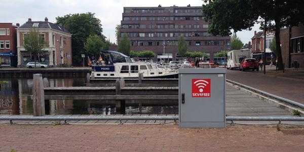 Gratis wifi-hotspots van SKV