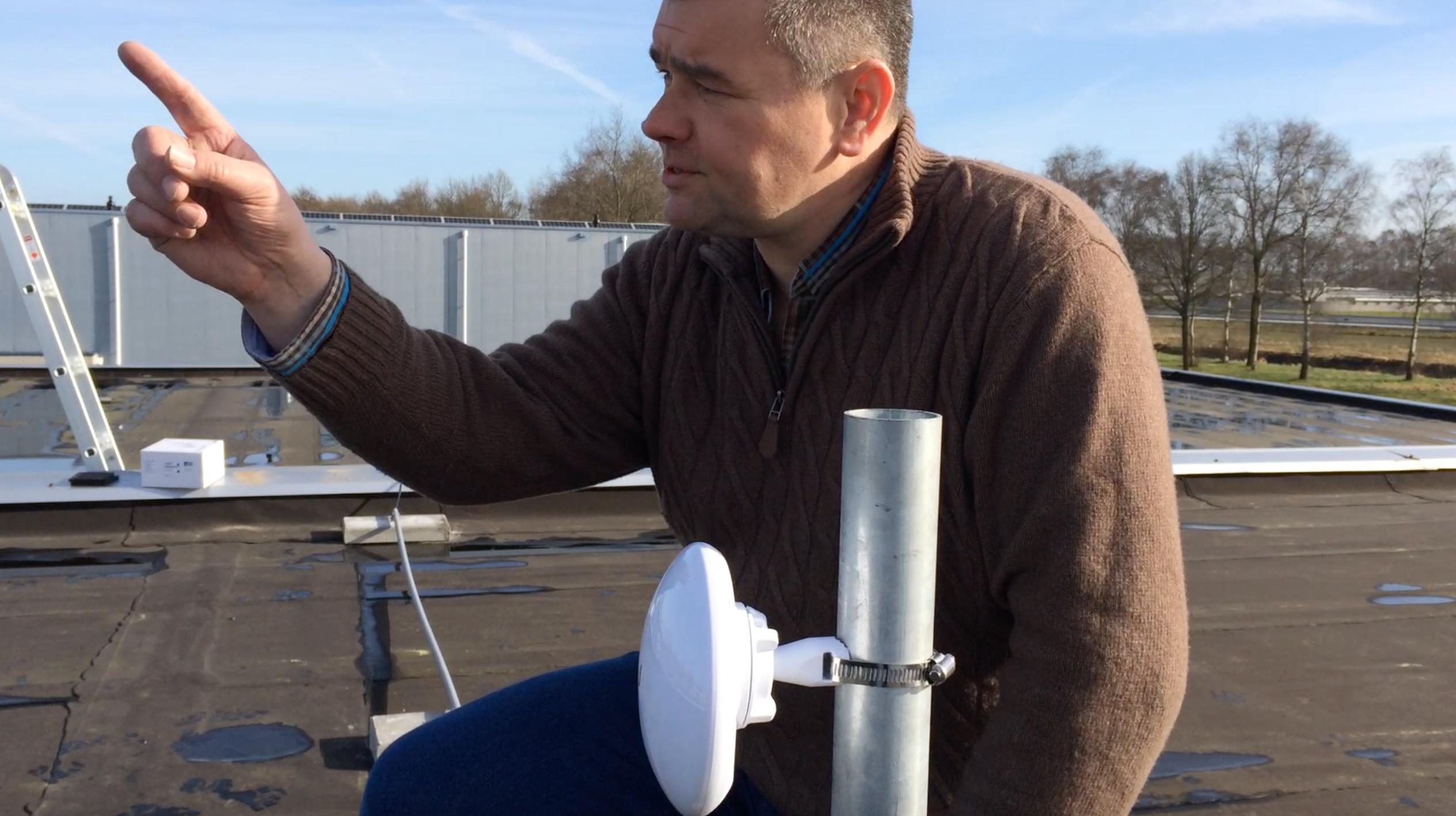 SKV test draadloos alternatief voor glasvezel. Eerste bedrijven aangesloten