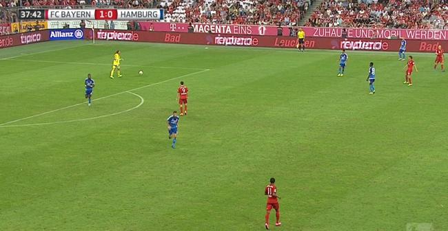 Voetbal met radiocommentaar via extra audiokanaal bij ARD