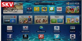 1 op de 3 Nederlanders kijkt via smart-tv naar internet programma's