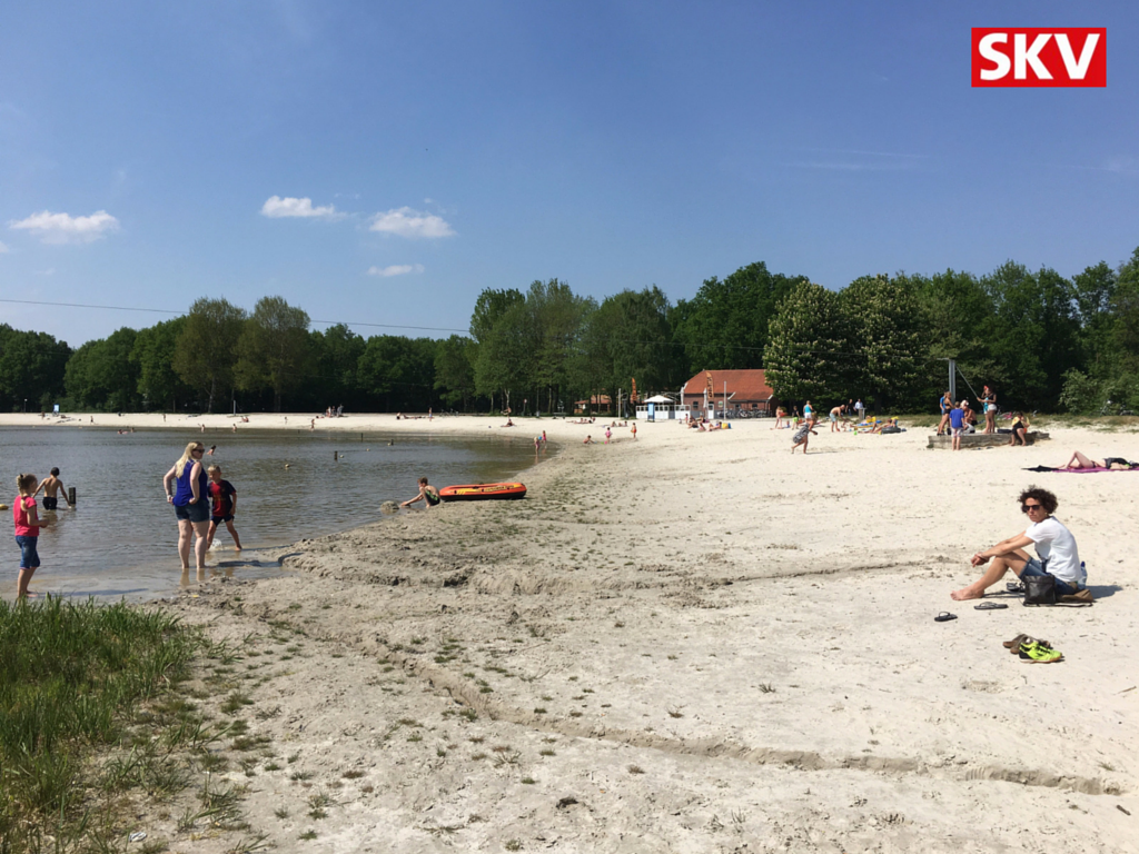 Gratis WiFi van SKV op het strand in Borgerswold