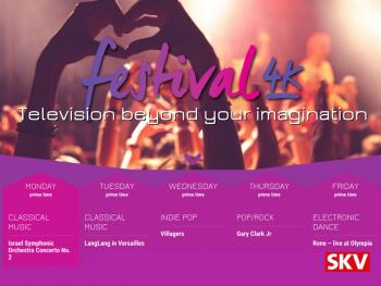 Festival UHD TV bij SKV