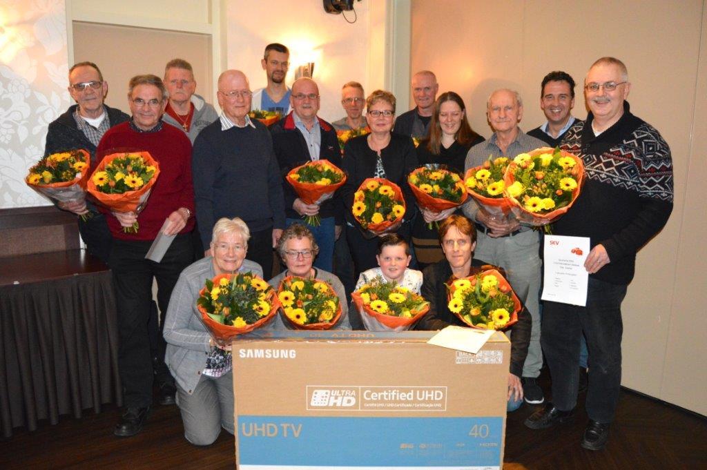 SKV brengt prijswinnaars SKV Kerstactie 2016 bijeen