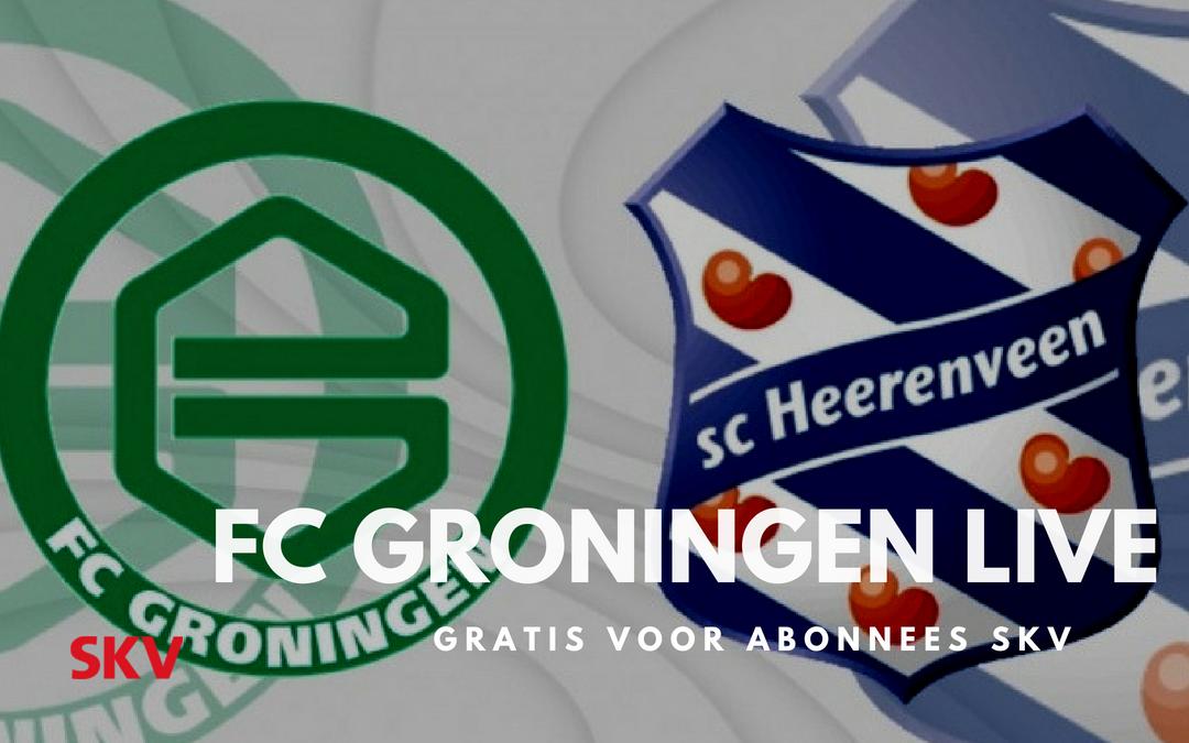 SC Heerenveen – FC Groningen bij SKV gratis via FOX Sports