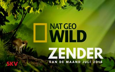 National Geographic Wild is zender van de maand juli 2018 bij SKV