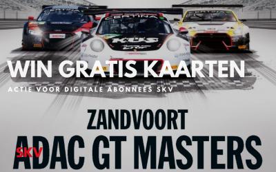 Win kaarten voor ADAC GT Masters 17 en 19 augustus 2018