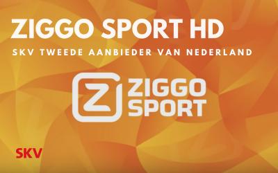 SKV is na Ziggo zelf tweede aanbieder in Nederland met Ziggo Sport Totaal in HD