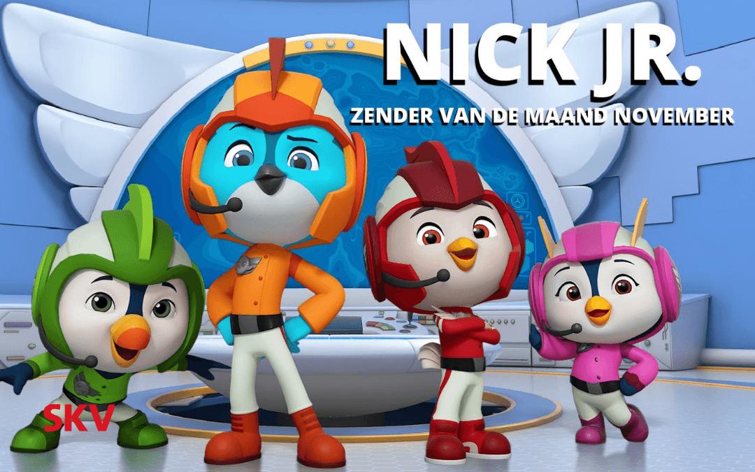 Nick Jr. zender van de maand november 2018 op kanaal 999