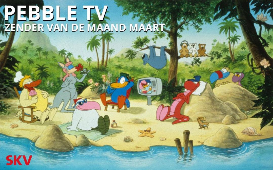 Pebble TV zender van de maand maart 2019 op kanaal 999