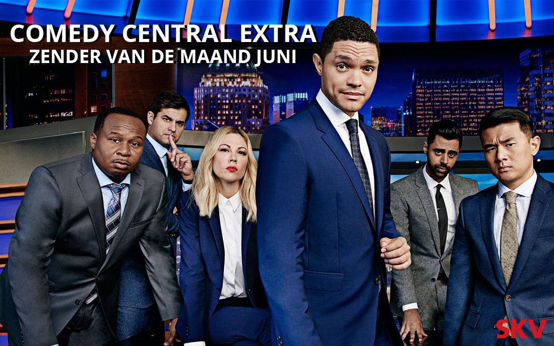 Comedy Central Extra zender van de maand juni 2019 SKV