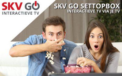 Nieuw: SKV GO settopbox – interactieve TV via je TV