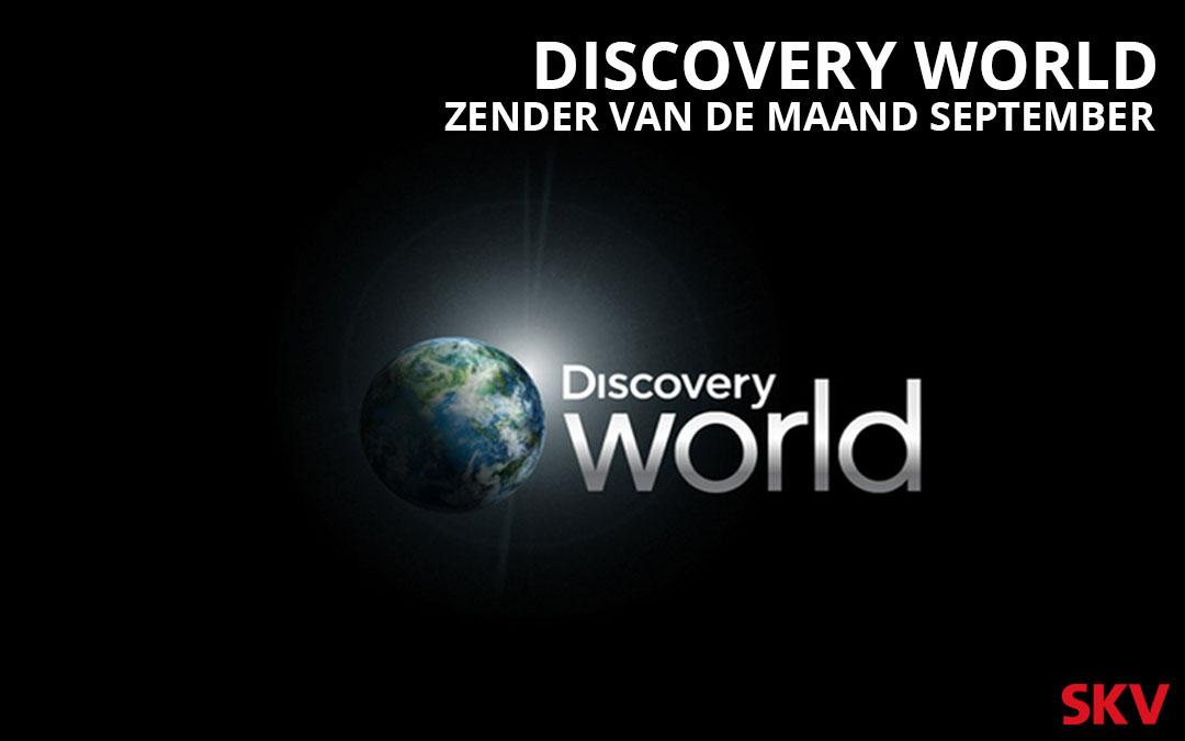 Discovery World SKV zender van de maand september 2019