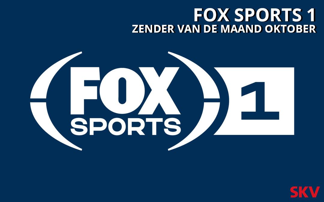 FOX Sports 1 zender van de maand oktober 2019 op kanaal 999