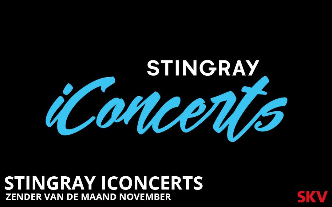 Stingray iConcerts zender van de maand november 2019 SKV