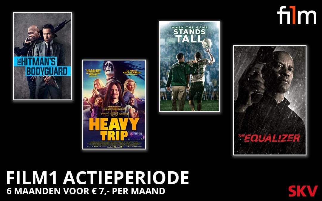 Actie: Kijk 6 maanden Film1 voor € 7,- per maand!