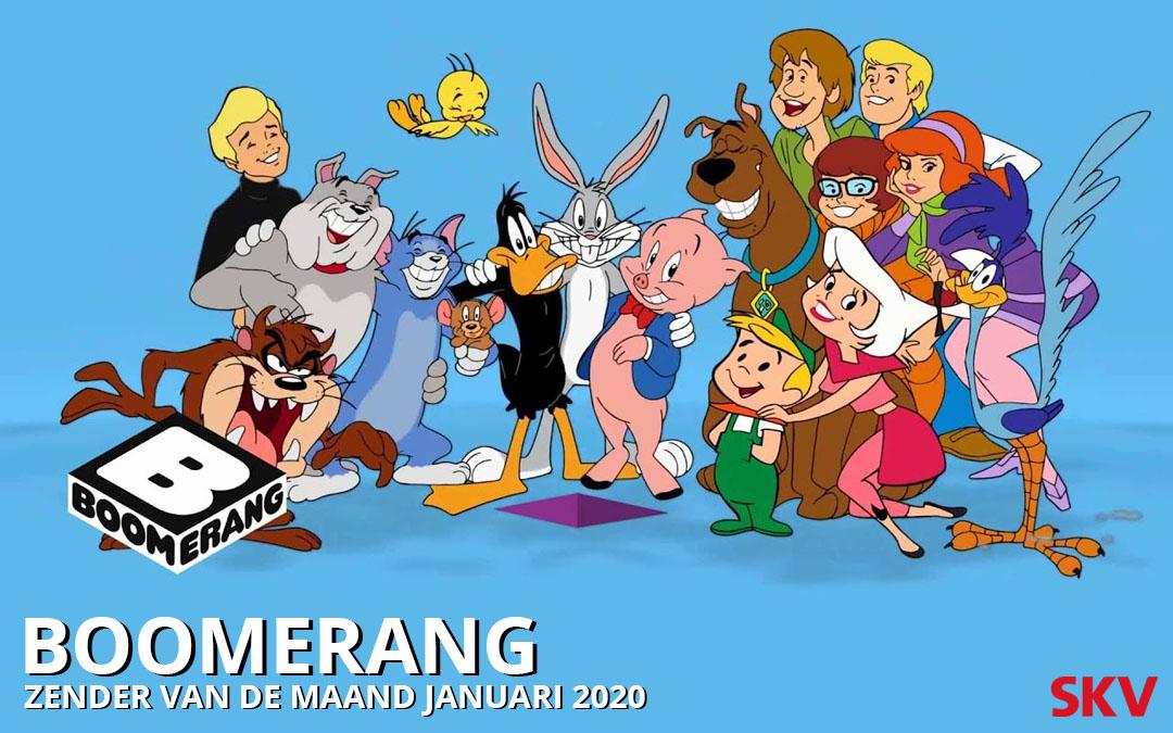 Boomerang zender v/d maand januari 2020 op kanaal 999