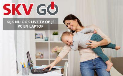 SKV introduceert TV kijken via PC of laptop