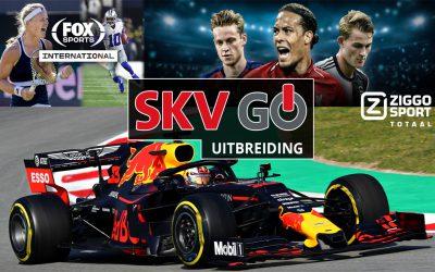 SKV GO – uitbreiding Ziggo Sport Totaal en FOX Sports International