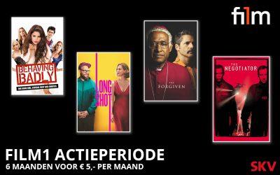 Actie: Kijk 6 maanden Film1 voor € 5,- per maand!