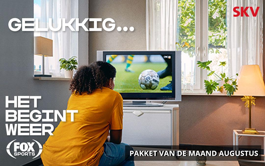 FOX Sports Eredivisie – pakket van de maand augustus bij SKV
