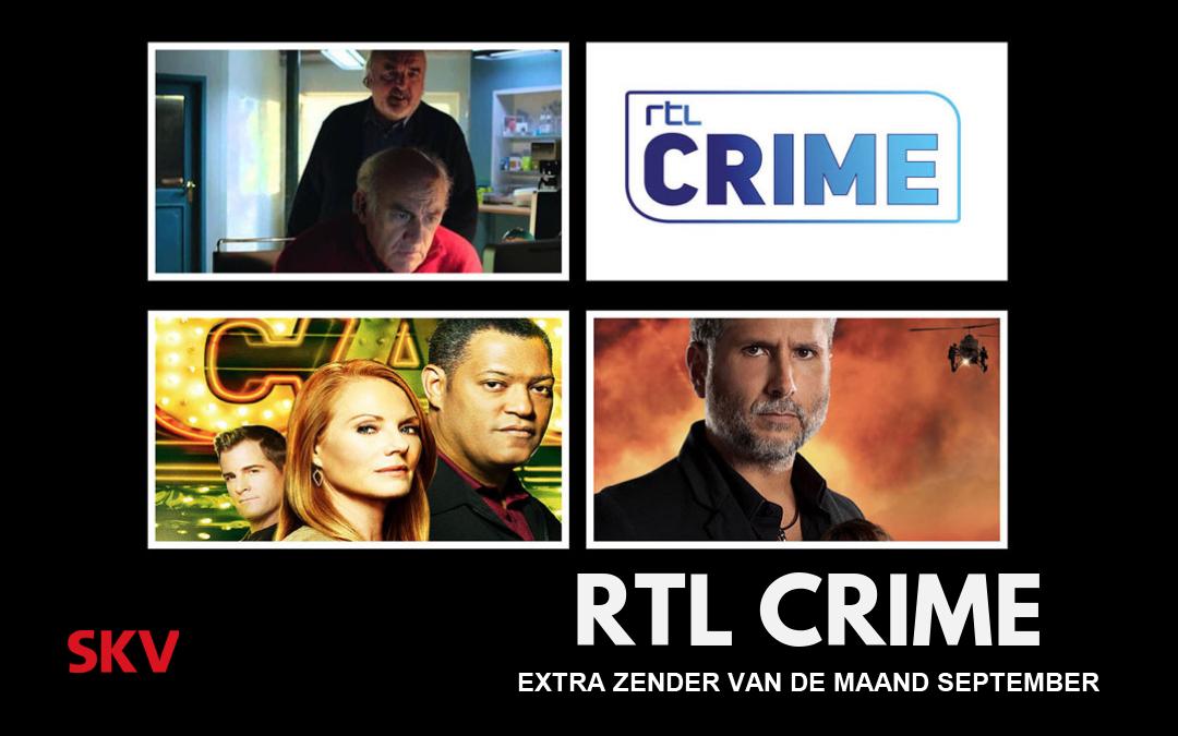 RTL Crime – extra zender van de maand september 2020 op kanaal 999
