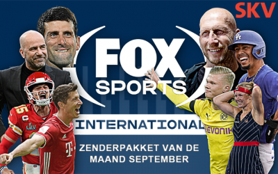 FOX Sports International – pakket van de maand september bij SKV