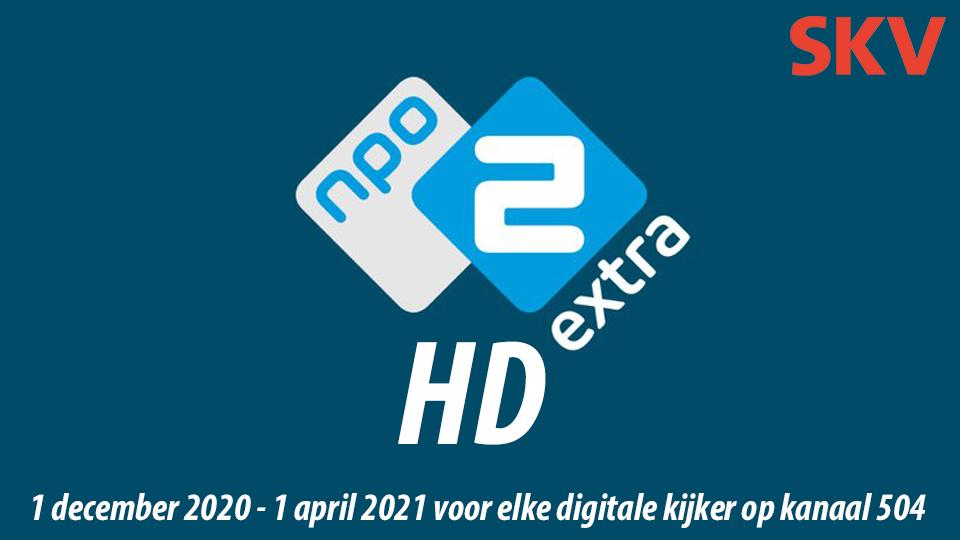NPO 2 Extra tijdelijk gratis bij SKV – upgrade naar HD