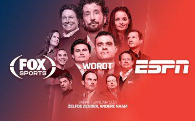 FOX Sports wordt ESPN – gratis bij SKV