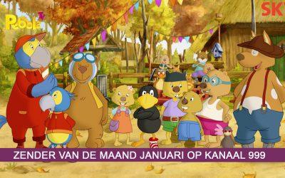 Pebble TV zender van de maand januari 2021
