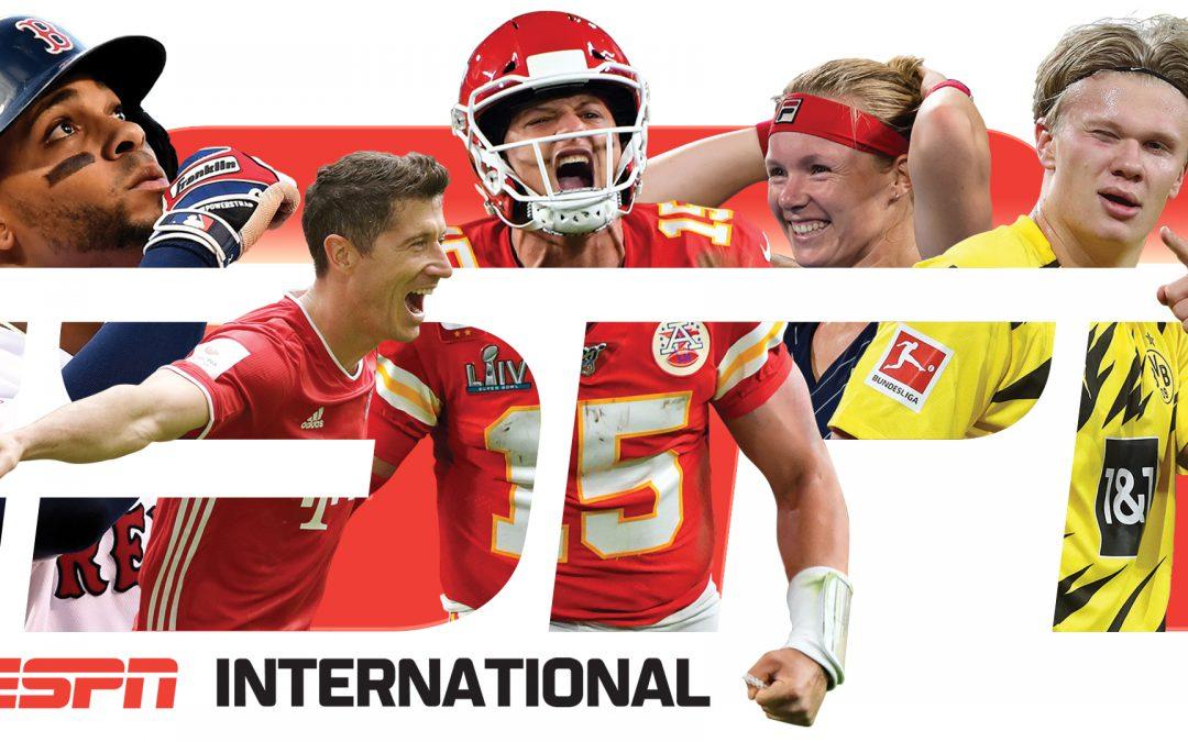 ESPN International – pakket van de maand maart bij SKV