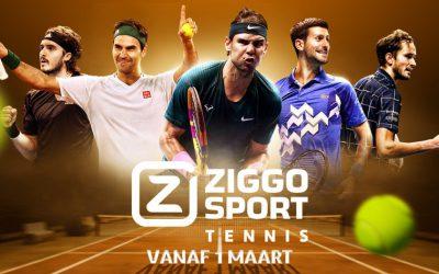 Ziggo Sport Totaal lanceert Ziggo Sport Tennis – gratis bij SKV van 1 t/m 7 maart 2021