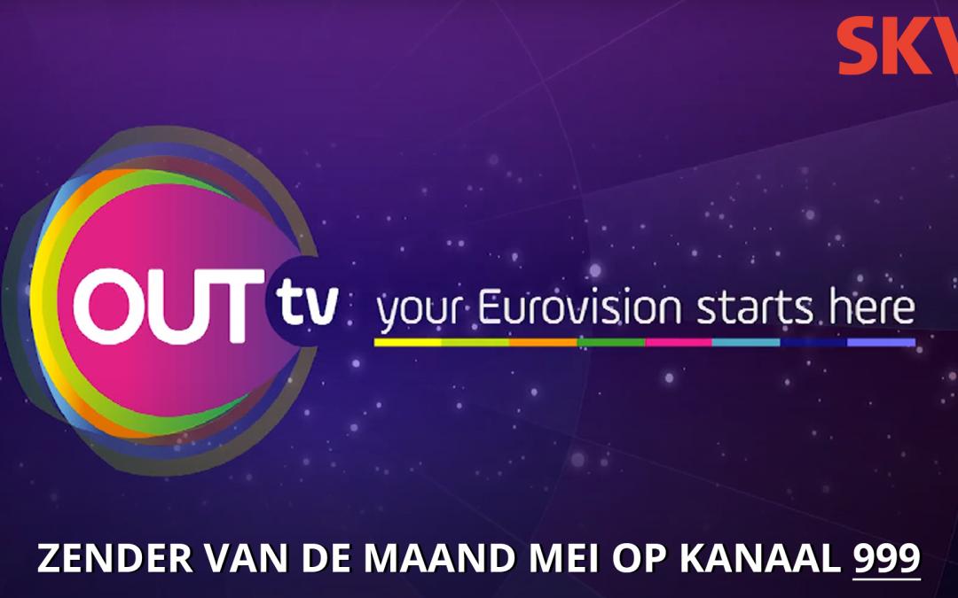 OUTtv zender van de maand mei 2021