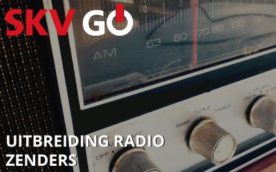 SKV GO – uitbreiding radiozenders