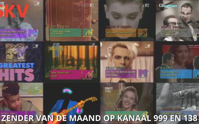 MTV 80's zender van de maand juli 2021