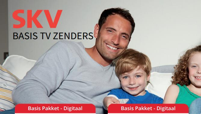 Uitbreiding TV zenderpakketten