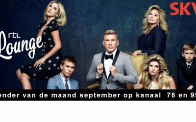 RTL Lounge zender van de maand september 2021