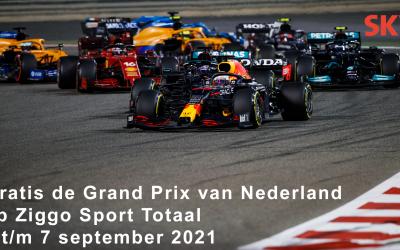 Dutch Grand Prix voor alle abonnees van SKV