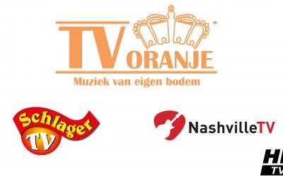TV Oranje, Schlager TV en Nashville TV naar HD