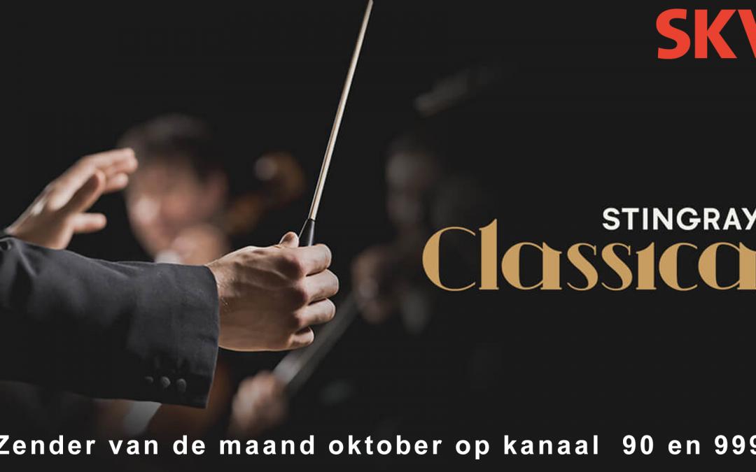 Stingray Classica zender van de maand oktober 2021